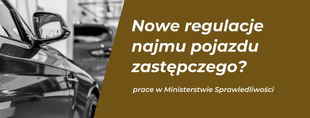 Prace w Ministerstwie nad najmem pojazdów zastępczych.